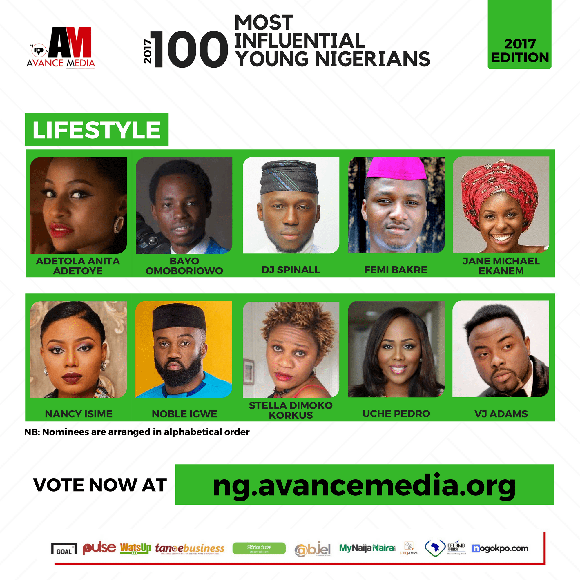 2017 100 Most Influential Young Nigerians (2)
